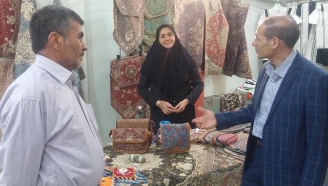 نمایشگاه های صنایع دستی در راستای حمایت از هنرمندان چهارمحال و بختیاری برپا می گردد