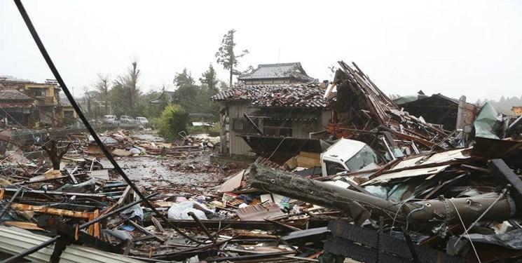 ورود طوفان سهمگین هاگیبیس به توکیو 2 کشته و 60 زخمی برجای گذاشت